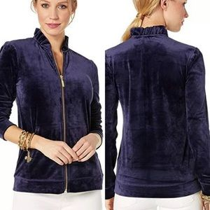 Lilly Pulitzer Jayla blue jacket small Excellent